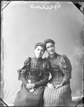 Photograph of Miss Guess & her friend