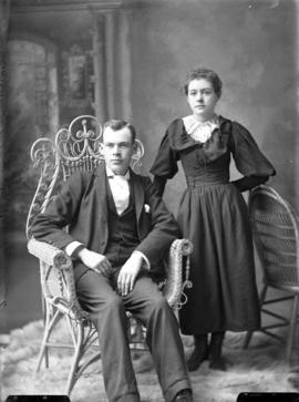 Photograph of  Jennie McLeod and Mr. Gordon