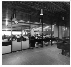 Photograph of a reading room in the Killam Memorial Library