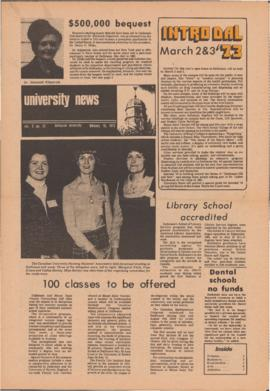University News, Volume 3, Issue 11