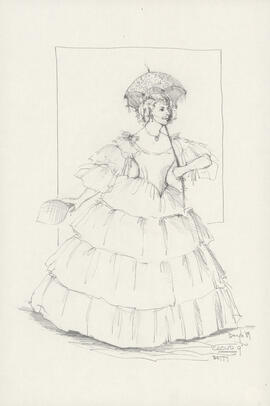 Costume design for Betty