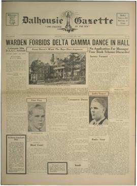 Dalhousie Gazette, Volume 70, Issue 13