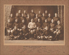 Photograph of Dalhousie English Rugby Team