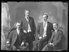 Photograph of Mr. McDonald  & friends