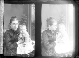 Photograph of Mrs. W. G. Matheson and baby