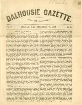 Dalhousie Gazette, Volume 5, Issue 3