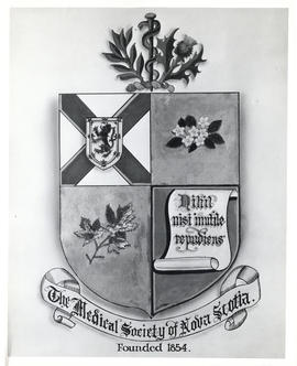 Photograph of the Coat of Arms of the Medical Society of Nova Scotia