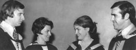 Photograph of Dalhousie Award Winners 1973