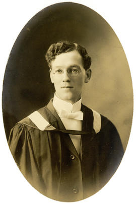 Portrait of Charles William Stramberg : Class of 1910