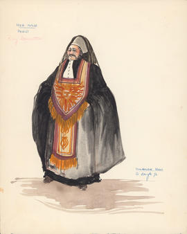 Costume design for Priest