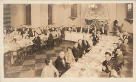 Photograph of the first annual dinner of the Dalhousie Club of New York