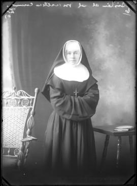 Photograph of  Sister John Berchmans of St. Martha's Convent