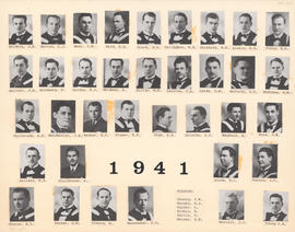 Composite Photograph of the Faculty of Medicine - Class of 1941