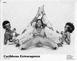 Photograph of Caribbean dancers  and limbo performer
