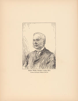 Andrew Walker Herdman Lindsay M.D. Secretary of the Faculty of Medicine, 1885–1915 : [print]
