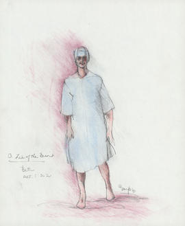 Costume design for Beth : Act I, scene II