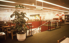 Photograph of McMaster University Health Science Library second floor