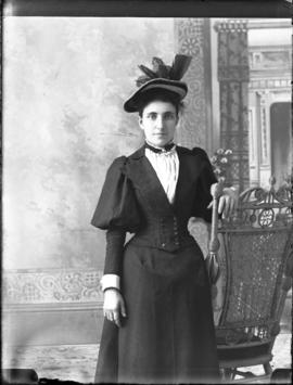 Photograph of Miss Sampson