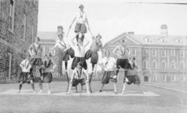 Photograph of Dalhousie University gym show