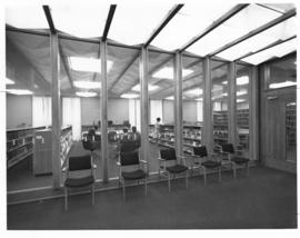 Photograph of a room in the Sir James Dunn Law Library