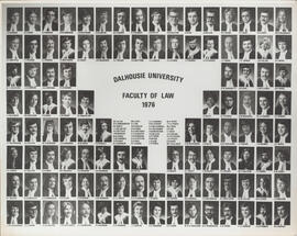 Composite photorgaph of Faculty of Law - Graduates - 1976