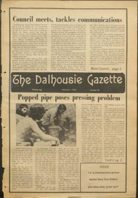 The Dalhousie Gazette, Volume 106, Issue 18