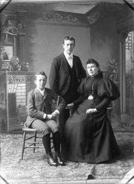 Photograph of Powers family