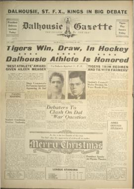 Dalhousie Gazette, Volume 68, Issue 10