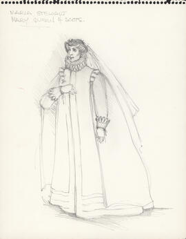 Costume design for Mary Queen of Scots