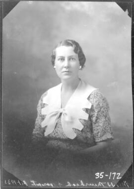 Photograph of  Mrs. J.J. Muirhead