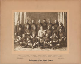 Photograph of Dalhousie Foot Ball Team - Champions of Eastern Canada