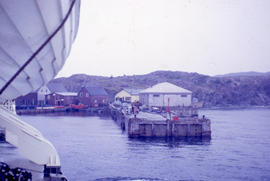 Photograph of the wharf in Twillingate, Newfoundland and Labrador