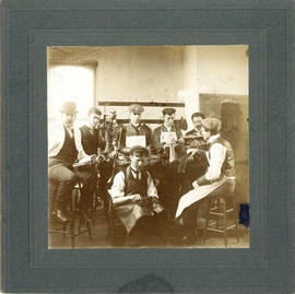 Photograph of Halifax Medical College, Anatomy Lab