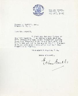Correspondence between Thomas Head Raddall and John Doull