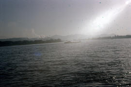 Photograph of the Rhine from the Zoll
