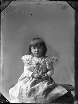 Photograph of Mrs. Irving's daughter