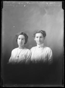 Photograph of Mrs. J.W Priest & friend