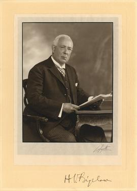 Photograph of H. V. Bigelow