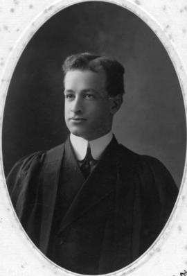 Photograph of Roy C. Buckley : Class of 1906