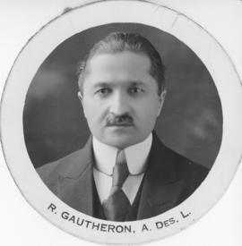 Photograph of R. Gautheron