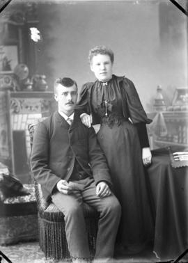 Photograph of Dan Smith and unknown individual