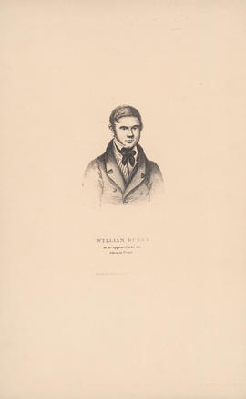 Engraving of William Burke as he appeared at the Bar : [1829]