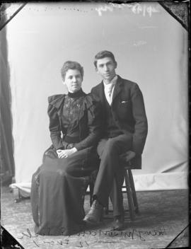 Photograph of Harry McDonald and his sister