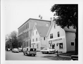 Photograph of the exterior of the Island Telephone Company central office, taken from the right