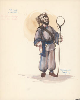 Costume design for Two Officers