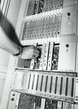 Photograph of computer equipment