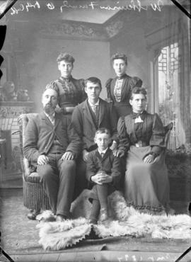 Photograph of Mr. Wilkinson and family