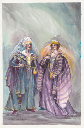 Costume design for Camille and Marie