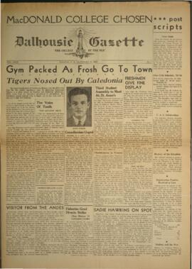 Dalhousie Gazette, Volume 72, Issue 7