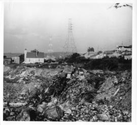 Photograph of a garbage dump near Africville